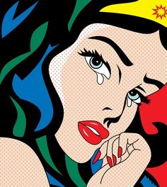 CLICK If you LOVE the #BEAUTY, #WonderWoman #Comics. We'll let you know about our new Pop Art & Comics Beauty Room Decor....Coming Soon.
