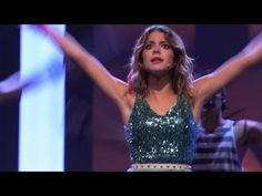 "Violetta 2 - ""On Beat"" Disney Channel, Soundtrack, Martini, Love Her, Movie Tv, All About Time, Music Videos, It Cast, Girls Dresses"