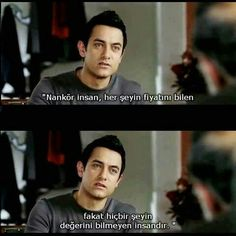 """Time to think """"know value"""" – private - Zitate Film Quotes, Sad Quotes, Best Quotes, Film Pictures, Epic Fail Pictures, Aamir Khan, Film Life, Movie Lines, Stress"""