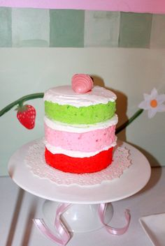 """Photo 1 of 21: Strawberry Shortcake / Birthday """"Ava's Strawberry Shortcake Party""""   Catch My Party"""