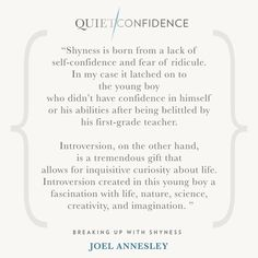 15 Quotes From Quiet Confidence: Breaking Up With Shyness - Quietly Successful: Unlock The Authentic Leader Within Quiet Confidence, Self Confidence, First Grade Teachers, Success Coach, Boy Quotes, Hypnotherapy, Life Coaching, Sydney Australia, Boys Who