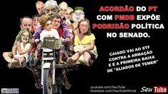 ACORDÃO de PT e PMDB expõe ARMAÇÃO de senadores. Caiado vai ao STF e pod...