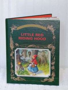 Golden Fairy Tale Collection  Little Red Riding by ChicAvantGarde