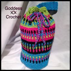 Goddess )O( Crochet: Bodacious Bag - free crochet pattern by Joanna Curley