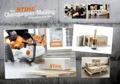 STIHL | CHAMPAGNER MAILING - Johannes Stoll | Art Direktion & Design