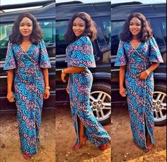 I Like this Beautiful Long Ankara Gown and You http://www.dezangozone.com/2016/06/i-like-this-beautiful-long-ankara-gown.html