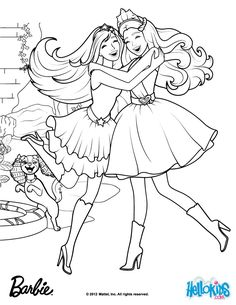 Gardenia Diamonds Made The Kingdon Magical Barbie Coloring Page More Princess