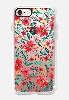 #Winterflower #Watercolorflower #Holiday #Casetify @Casetify