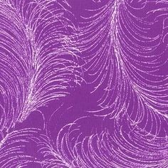 Michael Miller House Designer - Butterfly Garden - Fancy Feather in Fuschia Three Little Birds, Miller Homes, Michael Miller Fabric, Fabulous Fabrics, Modern Fabric, Sewing Hacks, Sewing Tips, Feather, Purple