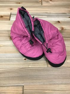 3f36397b260 Sierra Designs Women s Bootie Slippers Down Pink  fashion  clothing  shoes   accessories
