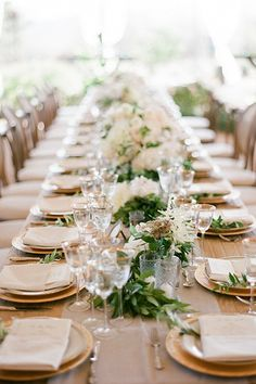 """""""Being that we were sharing our 'I dos' on my family farm, some of the  wedding menu, including the organic chickens, were farm raised with love on-site,   giving this wedding that farm-to-table feel.""""Catering: Duo Catering & Events."""