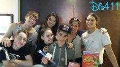 "Photo: Cameron Boyce With ""Descendants"" Co-Stars June 21, 2014"