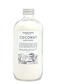 Organic coconut milk powder and vanilla oil combine in this skin-softening and h. Organic coconut milk powder and vanilla oil combine in this skin-softening and hydrating bath soak from Herbi Coconut Milk Powder, Organic Coconut Milk, Beauty Packaging, Cosmetic Packaging, Bottle Packaging, Brand Packaging, Food Packaging, Vanilla Oil, Branding
