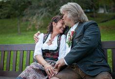 wedding photography kiss kuss hochzeit heirat fotografie nmdkdesign trachten outfit