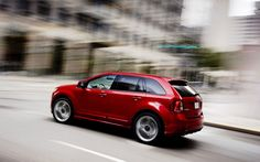 2014 ford edge | 2014 Ford Edge - side view