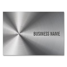 This great business card design is available for customization. All text style, colors, sizes can be modified to fit your needs. Just click the image to learn more! Metal Business Cards, Elegant Business Cards, Custom Business Cards, Business Names, Business Card Design, Business Ideas, Construction Business Cards, Text Style, Stainless Steel Metal