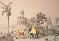 de Gournay - Early Views of India
