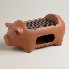 One of my favorite discoveries at WorldMarket.com: Pig Terracotta Grill