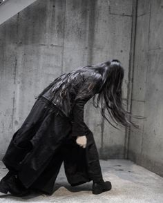 Jacket from ; Reo Ma for Atrum 2016/SS2016 Reo Ma HAKAMA pants from Reo Ma [ endless ] Footwear from GUIDI
