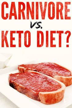The keto vs. carnivore battle is on. Which one is better? What's the proc and cons of each? We put together a comprehensive and informative article to help you make the right decision for your health. We think you will be surprised. Zero Carb Diet, Low Glycemic Diet, No Carb Diets, Low Carb Keto, Low Carb Recipes, Diet Recipes, Diet Tips, Meat Diet, Different Diets