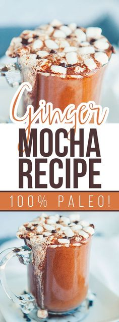 Paleo Ginger Mocha