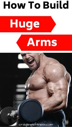 If you want to build massive arms in the gym by working out properly, then you have found the right post. Building bigger arms will require you to change your diet and workout routine. Eating testosterone boosting foods will help you build muscle easier. Muscle Building Program, Muscle Building Foods, Build Arm Muscle, Fast Weight Loss, Losing Weight, Men Health Tips, Bigger Arms, Increase Testosterone, Arm Muscles