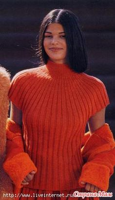 Crochet Jacket, Crochet Blouse, Knit Dress, Knit Crochet, Hand Knitting, Knitting Patterns, Angora Sweater, Pullover, Summer Tops