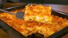 Είναι απλό, είναι οικονομικό, πολύ ελαφρύ και πεντανόστιμο φαγάκι - Τα έχει όλα! Η συνταγή είναι από το κανάλι LIVE KITCHEN CHANNEL Υλικά 1 κιλό πατάτες(καθαρισμένες) 3 φέτες μπέικον 1 μέτριο κρεμμύδι 1 σκελίδα σκόρδου 1 κτγ. αλάτι ελαιόλαδο 1/4 κτγ. πιπέρι 1/4 κτγ. ρίγανη 2 Recipe For Success, Pleasing Everyone, Lasagna, Macaroni And Cheese, Easy Meals, Pie, Cooking, Ethnic Recipes, Desserts