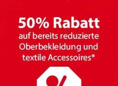 NKD: 50 Prozent Rabatt auf bereits reduzierte Oberteile und Accessoires https://www.discountfan.de/artikel/klamotten_&_schuhe/nkd-50-prozent-rabatt-auf-bereits-reduzierte-oberteile-und-accessoires.php Bei NKD gibt es noch bis zum Ende des Tages 50 Prozent Rabatt auf bereits reduzierte Oberbekleidung und textile Accessoires. Der Preisabschlag wird automatisch an der Kasse berechnet und gilt auch vor Ort. NKD: 50 Prozent Rabatt auf bereits reduzierte Oberteile und Accessoires