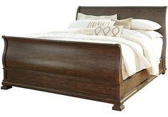Larrenton Queen Sleigh Bed