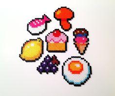Food perler beads