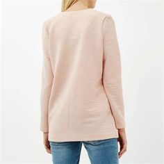 We've gathered our favorite ideas for Lyst River Island Light Pink Textured Blazer Jacket In Pink, Explore our list of popular images of Lyst River Island Light Pink Textured Blazer Jacket In Pink. Pink Blazer Outfits, Blazer Dress, Blazer Jacket, Light Pink Blazers, European Models, Pink Suit, Oversized Blazer, Pretty Designs, Blazer Fashion