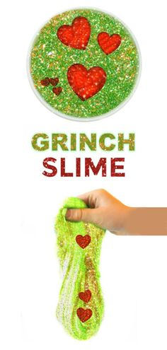 Bring a Christmas classic to life with this easy to make Grinch slime for kids! Grinch Party, Grinch Christmas Party, Christmas Party Themes, Christmas Activities For Kids, Kids Party Themes, Kids Christmas, Ideas Party, Holiday Themes, Party Activities