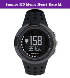 Suunto M5 Men's Heart Rate Monitor and Fitness Training Watch (Black). The Suunto M5 provides versitile guidance for multi-sport exercise. Set your fitness goals with the easy-to-use interface and the M5 provides an ideal daily workout schedule to help you achieve them - including telling you when it's time to rest. Choose from improving your fitness, weight management or free training, and the Suunto M5 automatically prescribes an exercise program with ideal intensity and duration for…