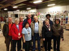 Delta Flight Museum volunteers