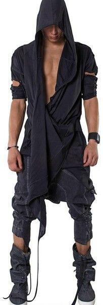 Demobaza Top Black Sense Cotton Jersey Tshirt - Lyst