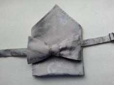 Men's  Bow Tie - Freestyle Cotton Brocade Bow Tie - Hand-crafted-Tied  or  Untied - Pocket Square - Handcrafted by HandsomeJimmy on Etsy