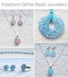 Freeform resin jewelry tutorial