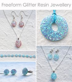 Freeform resin jewelry tutorial