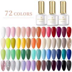 Manicure, Uv Gel Nails, Gel Nail Polish, Gel Polish Colors, Gel Color, Nail Colors, Nail Swag, Pretty Gel Nails, Cure Nails