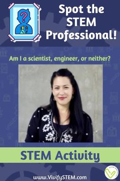 Who is a STEM professional? Who is a scientist? Who is an engineer? Everyone knows that engineers are nerdy guys with glasses and scientists always have crazy hair! Help students break down the stereotypes around STEM careers by showing them that anyone, including them, can be an engineer or scientist! The game and activities in this packet will uncover your students' misconceptions and highlight real living scientists and engineers that might not fit their stereotypes. Activity Games, Activities, Stem Careers, Hands On Learning, Mens Glasses, Crazy Hair, Teaching Tips, Everyone Knows, Engineers
