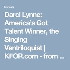 CONGRATULATIONS to Darci Lynne: America's Got Talent Winner, the Singing Ventriloquist | KFOR.com - from LIVE AGT SHOW Finale - Sept 20, 2017