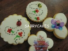 baby shower cookies by sabrycakes.com