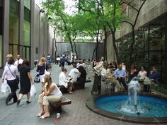 6th Ave. pocket park - Midtown NYC