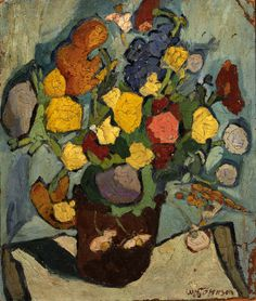 William Johnson - Still Life Flowers 2