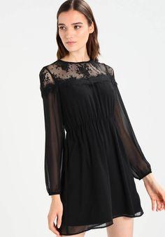 f2b5675a64cc Vestito estivo - black. Lunghezza delle maniche 61 cm nella taglia M.  Zalando Shop