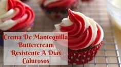 Crema de mantequilla resistente a días calurosos Frosting Colors, Icing Frosting, Fondant Icing, Frosting Recipes, Cream Cheese Frosting, Cake Recipes, Madeline Cake, Cupcake Art, Cake Trends