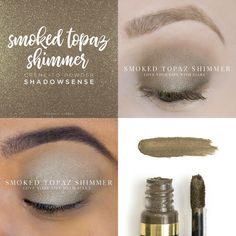 Shadowsense Smoked Topaz Shimmer Beauty Hair Skin Amp Makeup In Makeup To Buy, Kiss Makeup, Eye Makeup, Makeup Geek, Hair Makeup, Senegence Makeup, Senegence Products, Shadow Sense, Waterproof Eyeshadow