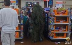 Walmart is so scary...
