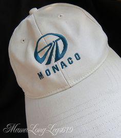 Vintage Monaco Racing Strapback Hat Pacific Headwear OSFA Beige French  Riviera  PacificHeadwear  BaseballCap Strapback 90fc3a338a7a
